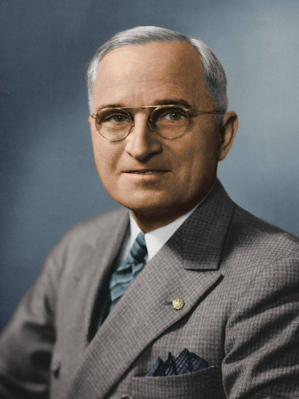 Harry S. Truman height