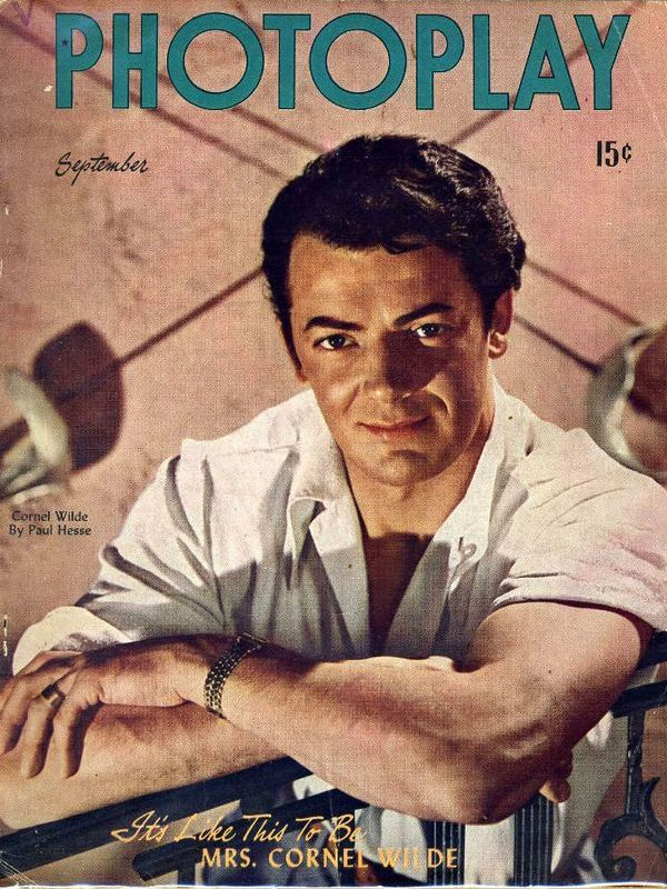 Cornel Wilde height
