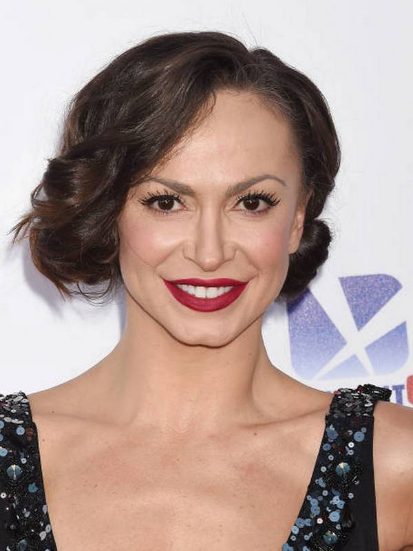 Compare Karina Smirnoff's height, weight, body measurements with