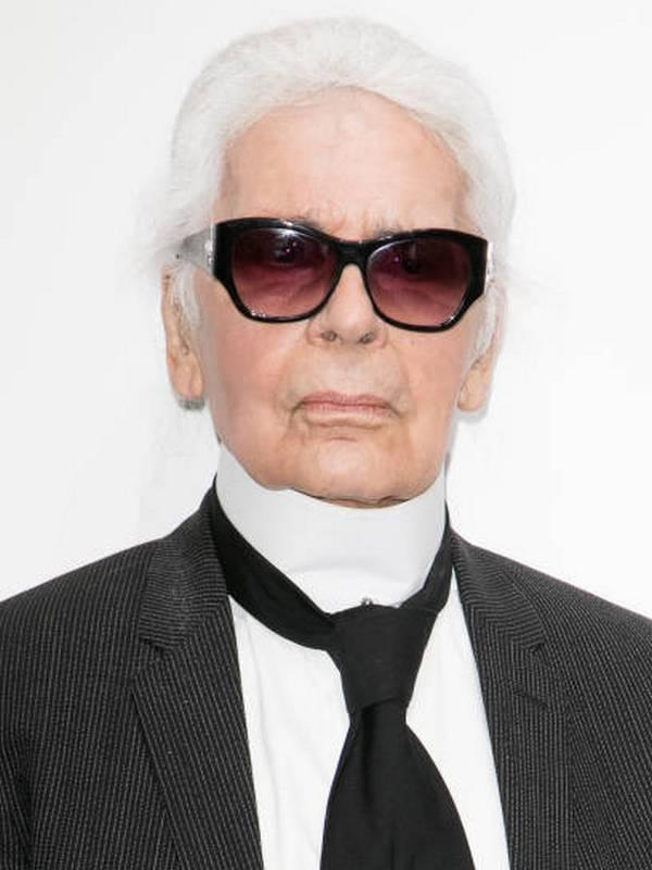 Karl Lagerfeld height