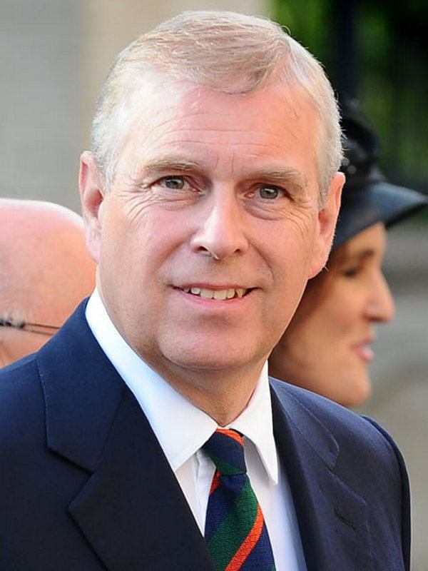 Prince Andrew height