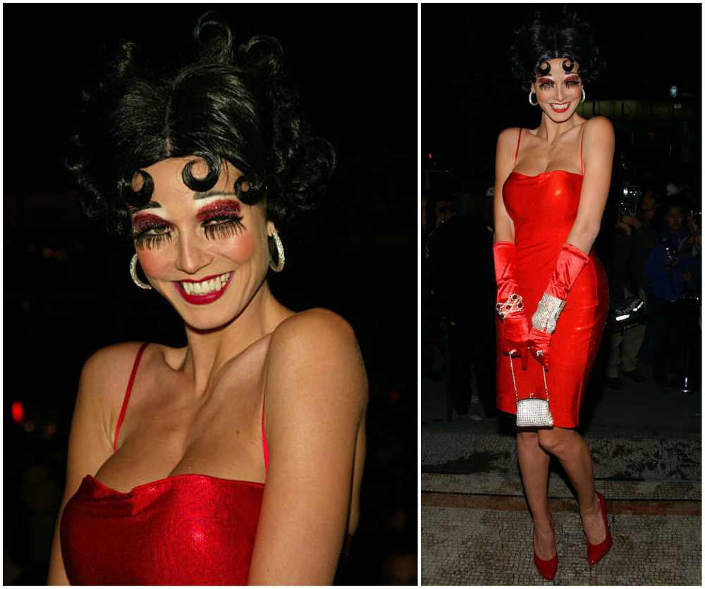 Heidi Klum's Halloween costume in 2002