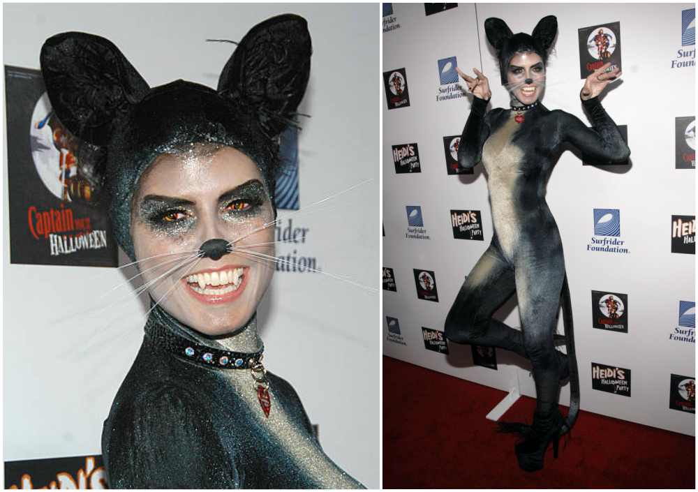 Heidi Klum's Halloween costume in 2007