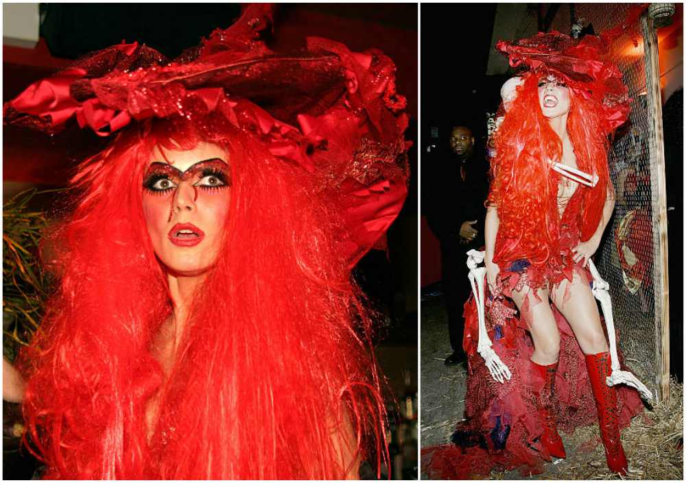 Heidi Klum's Halloween costume in 2004
