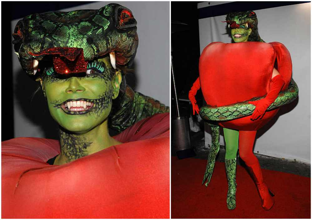 Heidi Klum's Halloween costume in 2006