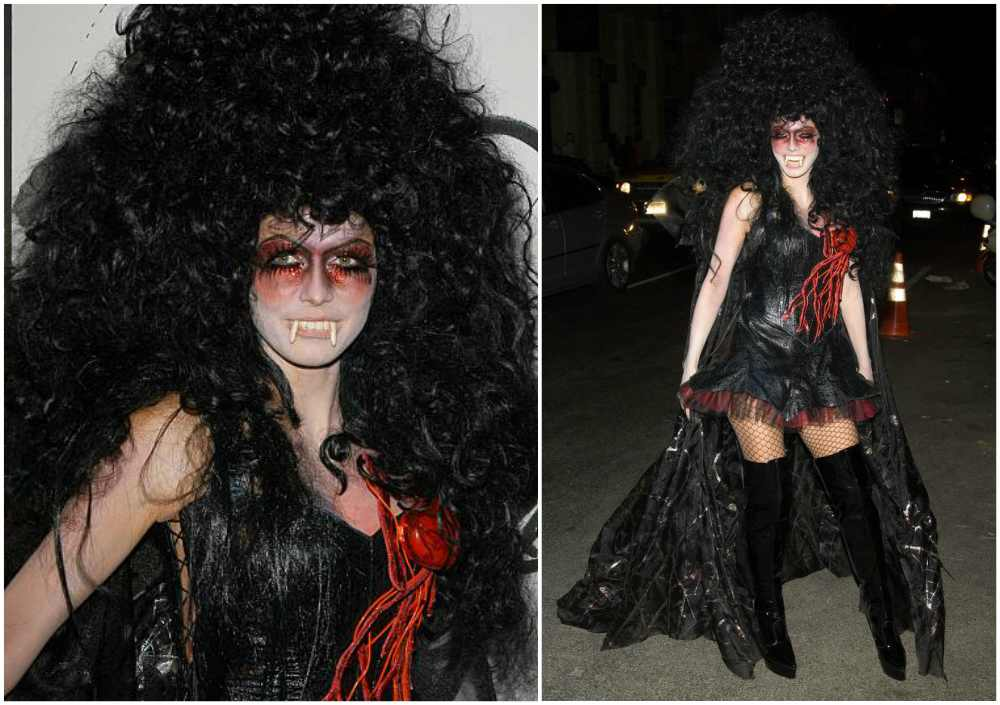Heidi Klum's Halloween costume in 2005