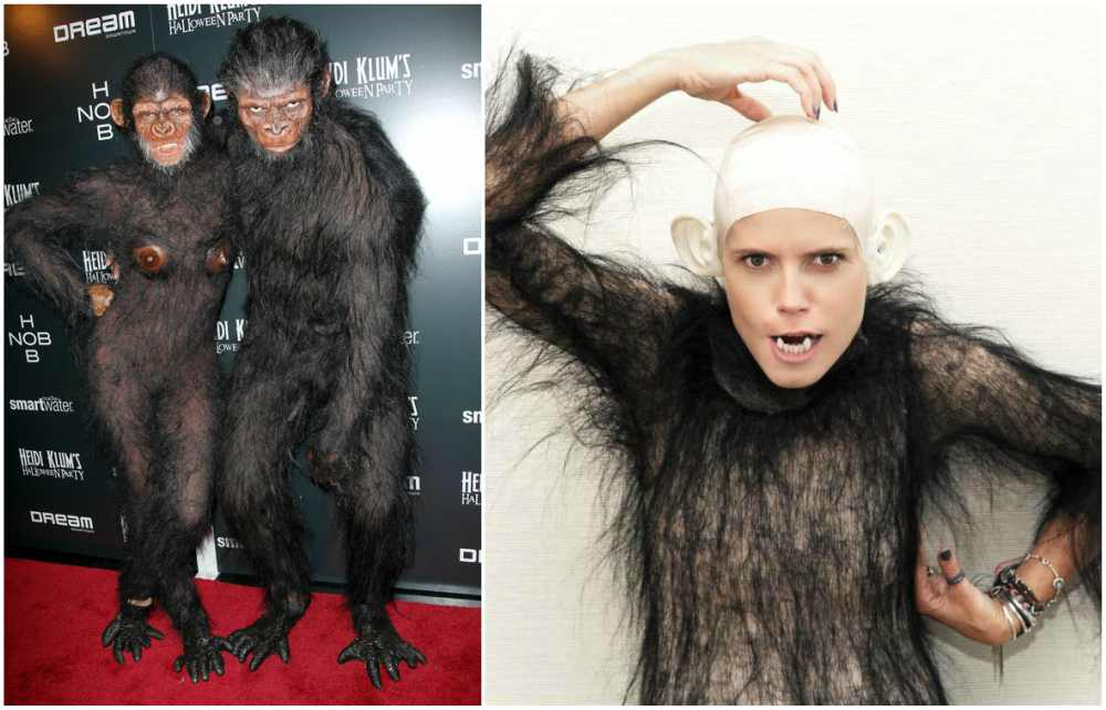 Heidi Klum's Halloween costume in 2011