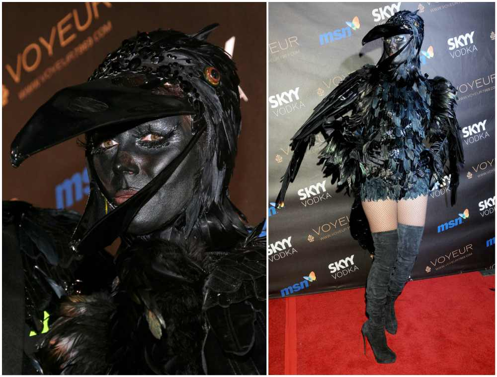 Heidi Klum's Halloween costume in 2009
