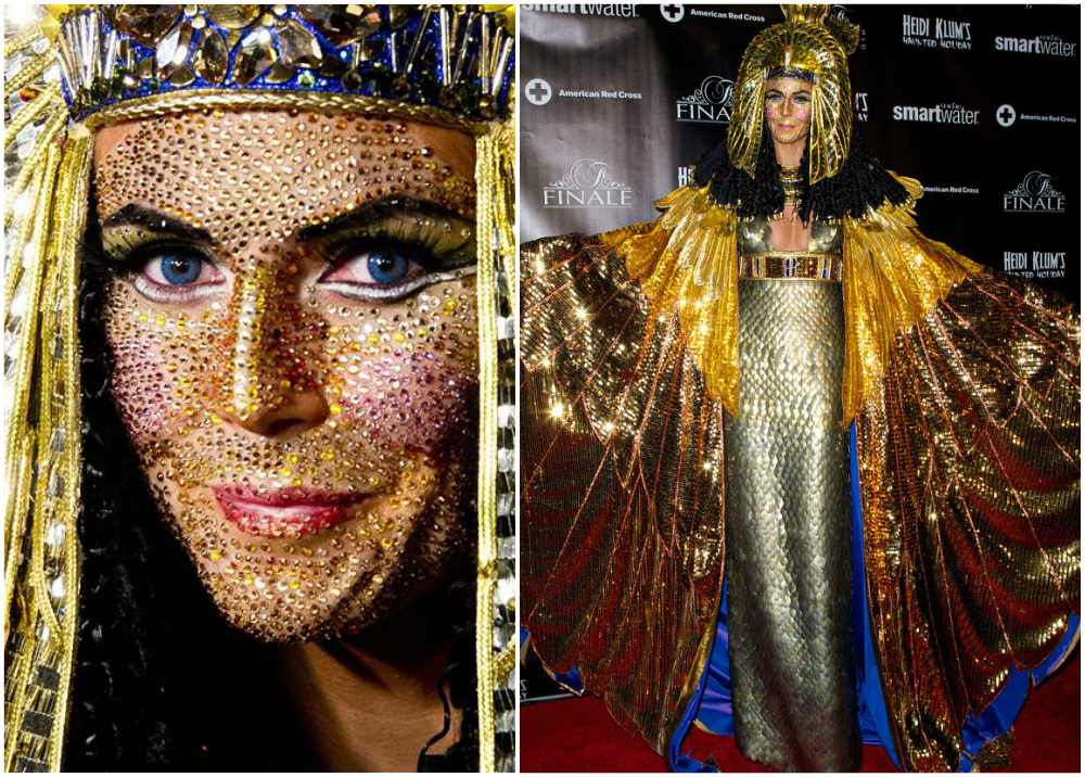 Heidi Klum's Halloween costume in 2012