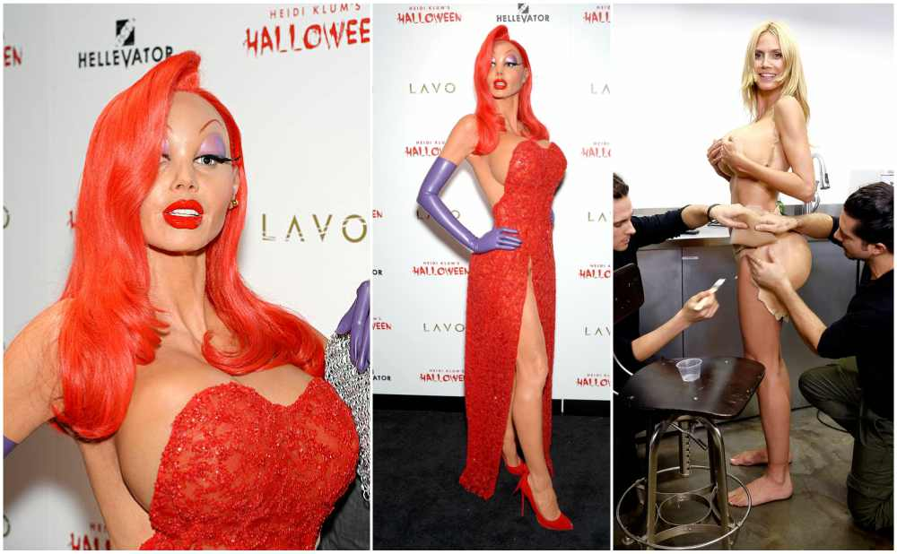Heidi Klum's Halloween costume in 2015