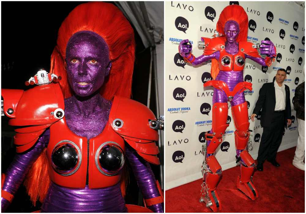 Heidi Klum's Halloween costume in 2010