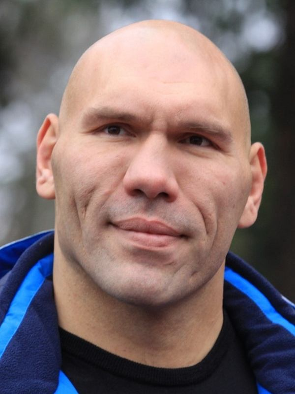 Nikolai Valuev height