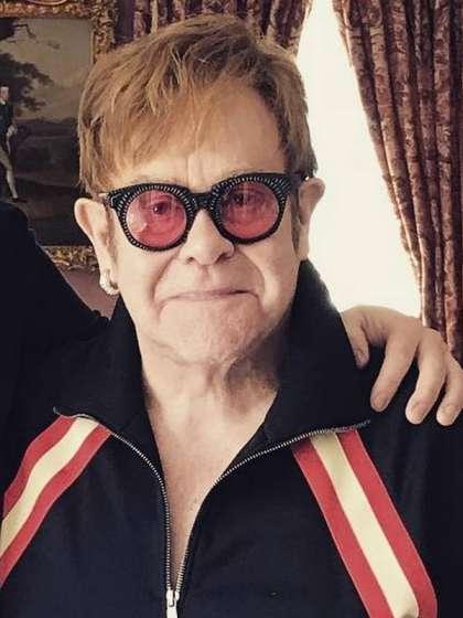 Elton John height