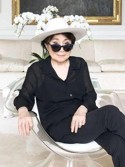 Yoko Ono height
