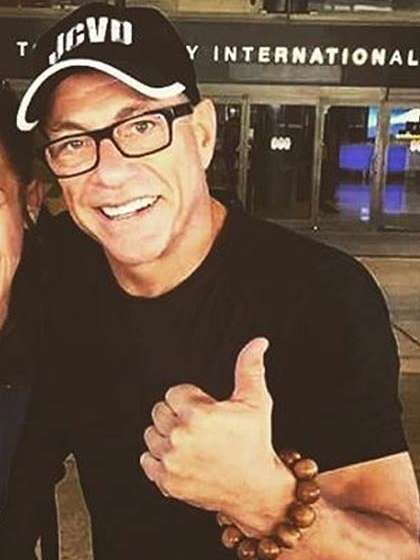 Jean-Claude Van Damme height