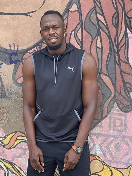 Usain Bolt height