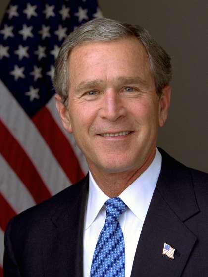 George Bush height